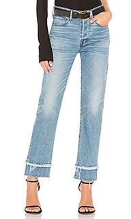 Узкие укороченные джинсы petal higher ground - 3x1