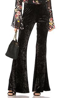 Широкие брюки crushed velvet - Band of Gypsies