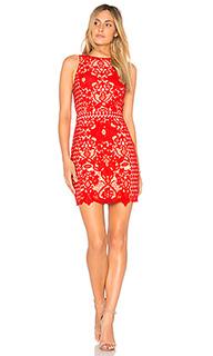 Платье high neck floral crochet - Endless Rose