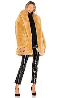 Пальто из искусственного меха double breast - Halston Heritage