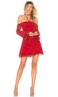 Платье со спущенными плечами lita - Lovers + Friends
