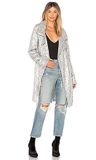 Куртка с блестками - Norma Kamali