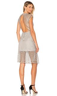 Платье с металлическим отливом breonne - SAYLOR
