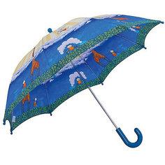 """Зонт-трость, детский, со светодиодами, Zest, рисунок """"Жираф"""""""