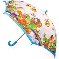 """Зонт-трость, детский Zest, со светодиодами, рисунок """"На радуге"""","""