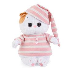 Мягкая игрушка Budi Basa Кошка Ли-Ли Baby в полосатой пижаме, 20 см