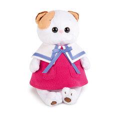 Мягкая игрушка Budi Basa Кошка Ли-Ли в морском платье, 24 см