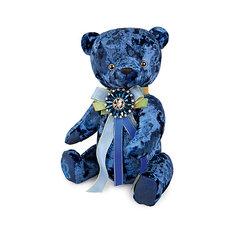 Мягкая игрушка Budi Basa Медведь БернАрт сапфировый, 30 см