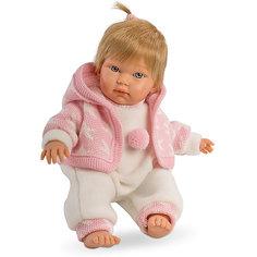 Кукла-пупс Llorens Кука в белом комбинезоне, 30 см