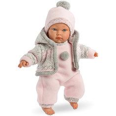 Кукла-пупс Llorens Кука в розовом комбинезоне, 30 см