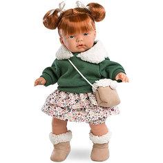 Кукла-пупс Llorens Кейт в светлой юбке, 38 см