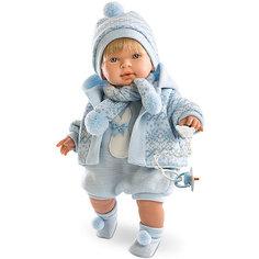 Кукла-пупс Llorens Лола в голубом боди, 42 см