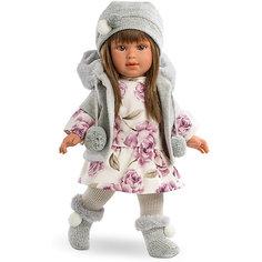 Классическая кукла Llorens Мартина в кофте с капюшоном, 40 см