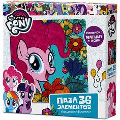 """Пазл Origami """"My little pony"""" 36 элементов + магнит Пинки Пай"""