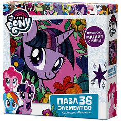 "Пазл Origami ""My little pony"" 36 элементов + магнит Сумеречная Искорка"