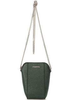 Маленькая зеленая сумка через плечо Fiato