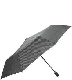 Серый зонт в полоску Doppler