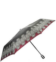 Черный зонт в горошек Doppler