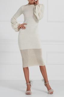 Трикотажное платье с люрексом A LA Russe