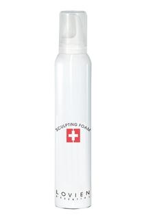 """Мусс для сильной фиксации """"Объем, блеск и эластичность"""", 200 ml Lovien Essential"""