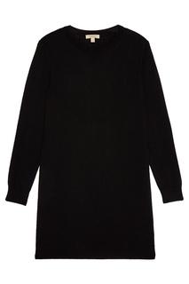 Трикотажное платье черное Burberry