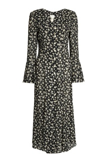 Винтажное платье с принтом Vintage No Names