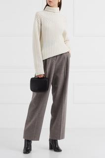 Шерстяные меланжевые брюки (1990-е) Giorgio Armani Vintage