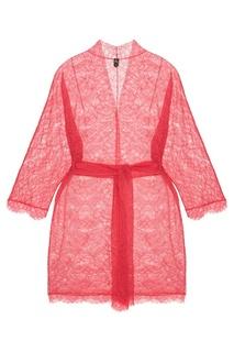 Кружевной халат с поясом Nu Code