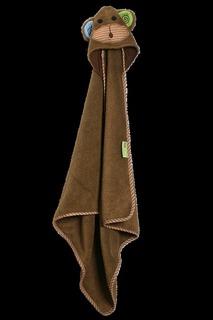 Детское полотенце с декоративным капюшоном Zoocchini