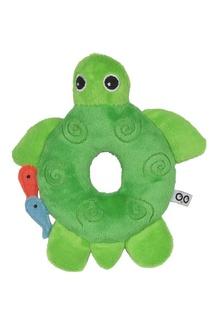 Зеленая погремушка в виде черепахи Zoocchini