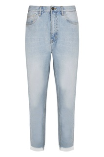 Светлые джинсы с бахромой MiH Jeans