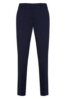 Синие брюки из шерсти Oboli Sportmax Code