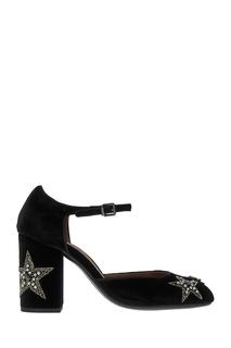 Бархатные туфли со звездами Lola Cruz