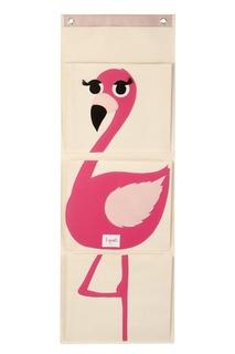 Органайзер на стену с фламинго 3 Sprouts