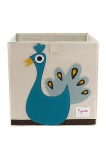 Коробка для хранения «Павлин» 3 Sprouts