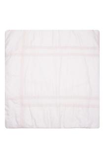 Розовый плед с кружевом Dior Children