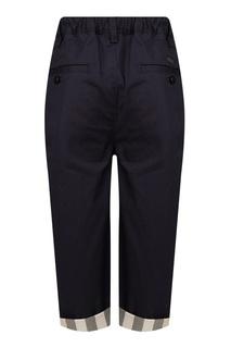 Укороченные брюки Burberry Children
