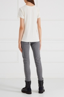 Меланжевые брюки Moncler