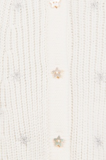 Вязаный кардиган с вышивкой Dior Children