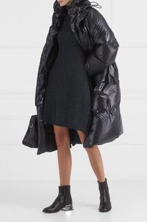 Меланжевое платье-миди Mm6 Maison Margiela