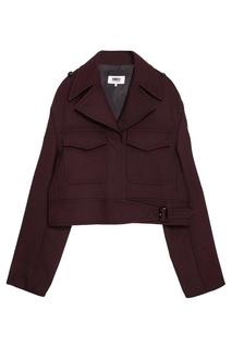 Куртка с накладными карманами Mm6 Maison Margiela