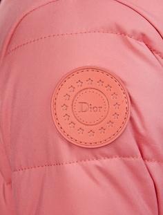 Комбинезон с мехом Dior Children