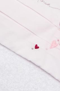 Хлопковое полотенце с капюшоном Dior Children