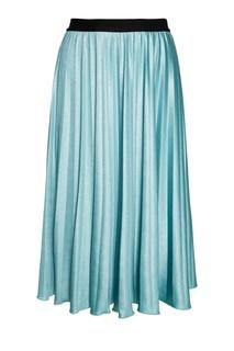 Голубая плиссированная юбка Essentiel