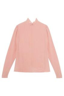 Шелковая блузка с плиссированной отделкой Rochas