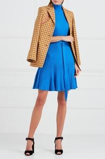 Трикотажное платье в рубчик Nina Ricci