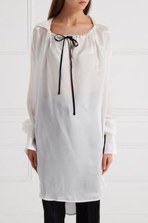 Шелковая блузка с завязками Ann Demeulemeester