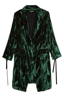 Пальто из панбархата Ann Demeulemeester