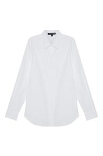 Белая рубашка из хлопка Ann Demeulemeester