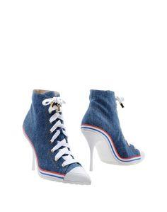 Полусапоги и высокие ботинки Moschino Couture